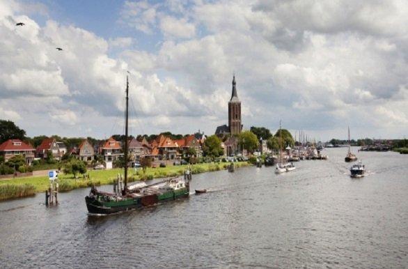 Op de fiets langs Hanzesteden als Zutphen, Deventer en Zwolle tijdens de Fietscruise Hanzesteden