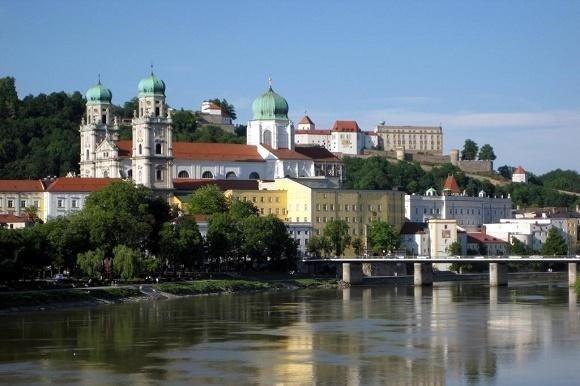 Gezicht op Passau