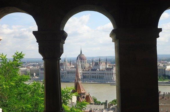 Budapest vanaf vissersbastion