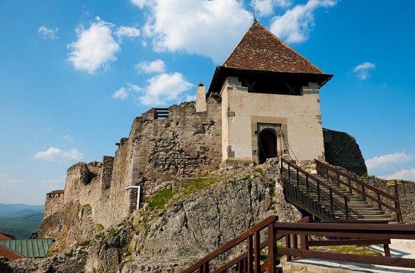 Ruïne bij Visegrad