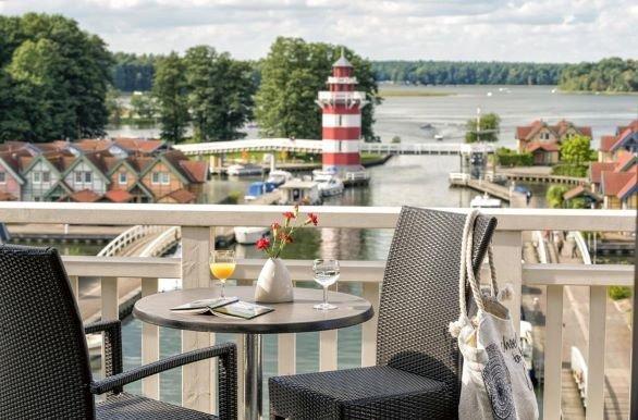 Hotel Rheinsberg terras