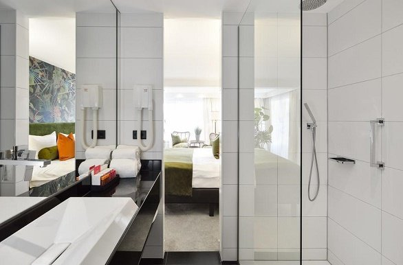 Hotel van der Valk Vught badkamer