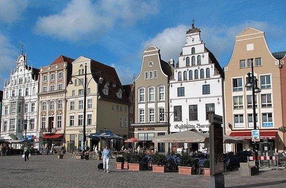 Rostock fietsen langs  de Oostzeekust