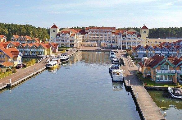 Haven met hotel fietsen in Mecklenburg