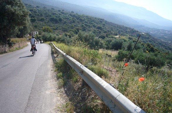 Panoramaweg fietsvakantie Kefelonia