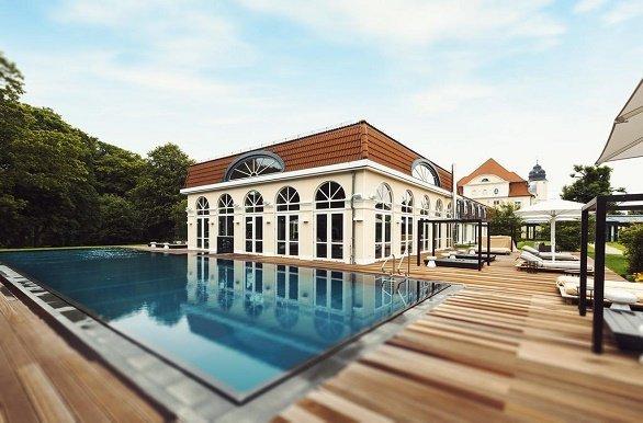 Radisson Blue Schlosshotel Fleesensee zwembad