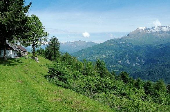 Soca Vallei Kolovrat wandelen in Slovenië