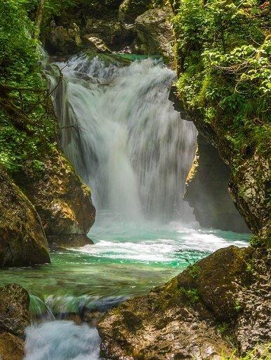 Slovenie waterval