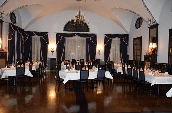 Hotel Zum Goldener Hirsch Reutte restaurant
