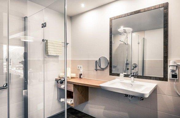 Hotel Föhrenhof badkamer