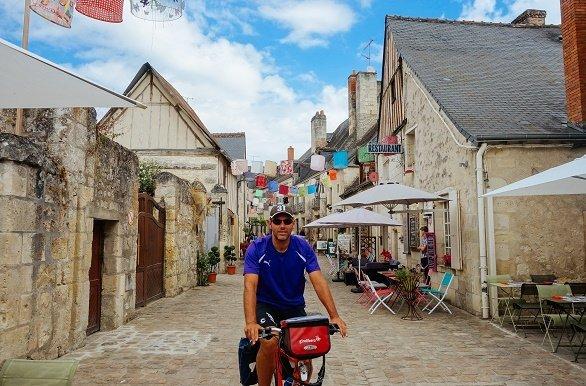 Azay le Rideau fietsen langs de Loire
