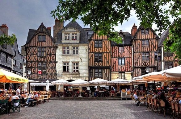 Place Plumerau Tours