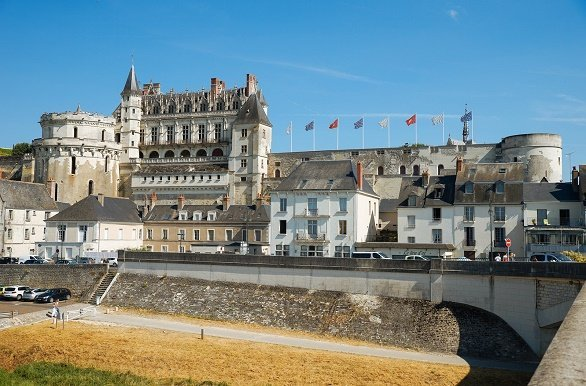 Amboise langs de Loire