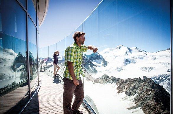 Pitztaler Gletsjer uitzicht