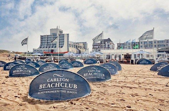 Carlton Beach Hotel zeezijde