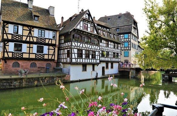 Straatsburg vakwerkhuizen