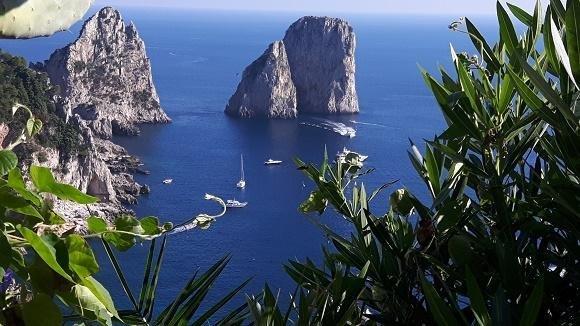 Almalfikust Capri wandeling