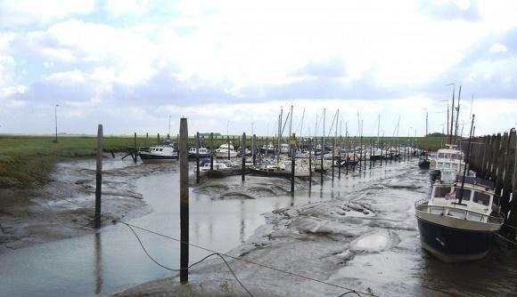 Zeeland getijde haven Paal
