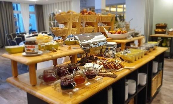 Hotel Merfelderhof ontbijtbuffet