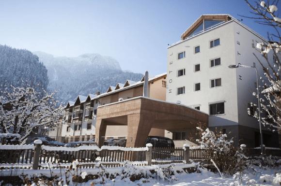 Hotel Weisses Kreuz in Thusis / Zwitserland