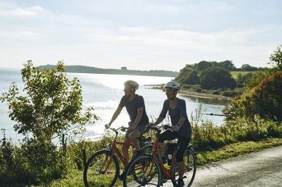 Denemarken fietsers Jutland