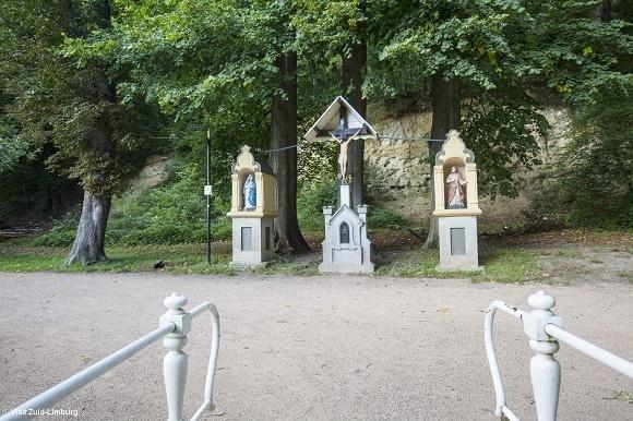 De drie beeldjes bos Valkenburg