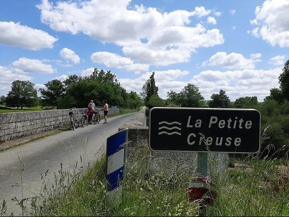 Het Franse Pad Brug over de petite Creuse