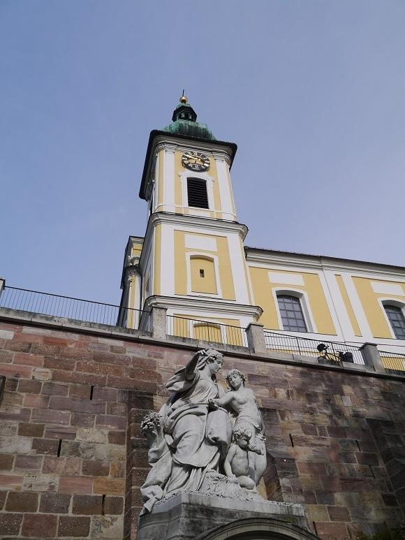 Kerk bij de Donaubron